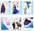 Frozen stricker-set decoration stickers Walltastic Room Decor Kits 42988