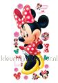 Minnie Mouse decoration stickers Walltastic Room Decor Kits 44265