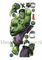 Hulk decoration stickers Walltastic Room Decor Kits 44289