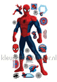 Spidey interieurstickers Walltastic jongens