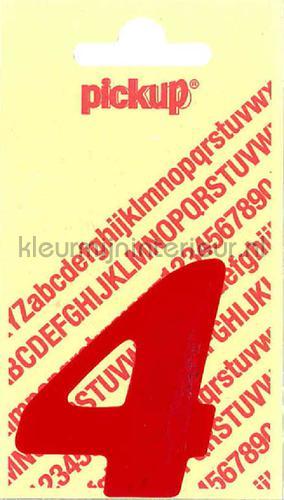 cijfer 4 cooper black decorative selbstkleber 4-rood zahlen und buchstaben Pick-up