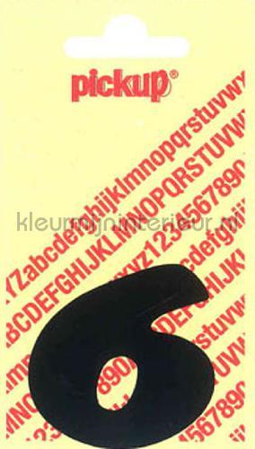 cijfer 6 cooper black decorative selbstkleber 6-zwart zahlen und buchstaben Pick-up