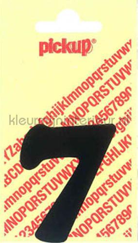 cijfer 7 cooper black decorative selbstkleber 7-zwart zahlen und buchstaben Pick-up