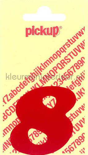 cijfer 8 cooper black decorative selbstkleber 8-rood zahlen und buchstaben Pick-up