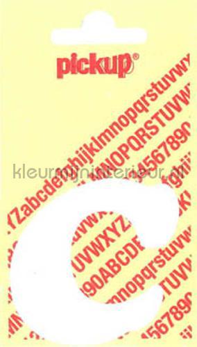 letter c cooper black decorative selbstkleber c-wit zahlen und buchstaben Pick-up