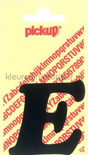 letter e cooper black decorative selbstkleber e-zwart zahlen und buchstaben Pick-up