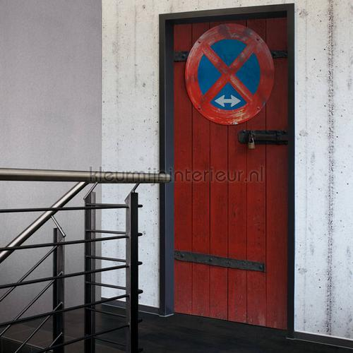 No Parking door decorative selbstkleber 020008 türaufkleber AS Creation