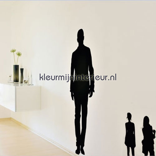 people silhouetten wallstickers 350-0041 DC-fix collectie samling