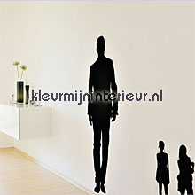 People silhouetten interieurstickers DC-Fix behang