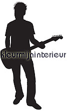 rocker wallstickers 350-0047 silhuetter DC-Fix