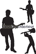 Rockers wallstickers DC-Fix silhuetter