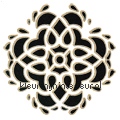 Wall tatoo velours 3 stuks Ornamenti - Rosette temi