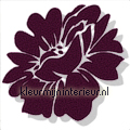 Velourse bloem 3 stuks sale wall stickers sale wall stickers