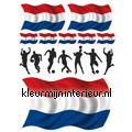 Voetballers nederland Kinderkamer