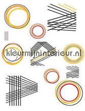 Geometric interieurstickers DC-Fix behang