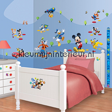 Mickey Mouse stickerset interieurstickers Walltastic jongens