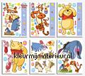 Winnie the Pooh sticker-set stickers mureaux Walltastic garçons