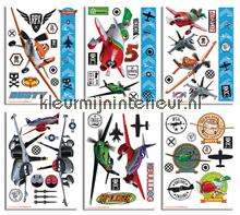 Planes sticker-set interieurstickers Walltastic jongens