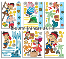 Jake and the NeverLand Pirates interieurstickers Walltastic Baby Peuter