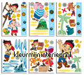 Jake and the NeverLand Pirates stickers mureaux Walltastic garçons