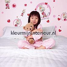 Bunny interieurstickers Komar Baby Peuter
