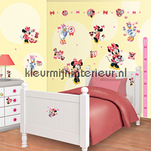 Minnie Mouse sticker-set interieurstickers Walltastic meisjes