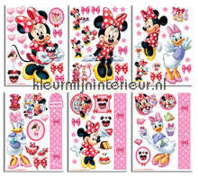 Minnie Mouse sticker-set interieurstickers Walltastic meisjes