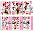 Minnie Mouse sticker-set decoration stickers Walltastic Disney Pixar Marvel