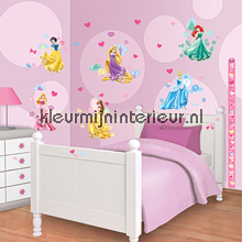 Disney Prinsessen sticker-set interieurstickers Walltastic meisjes