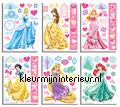 Disney Prinsessen sticker-set decoration stickers Walltastic Room Decor Kits 41455
