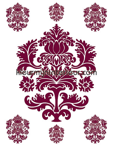 velours ornament interieurstickers 350-0035 DC-fix collectie