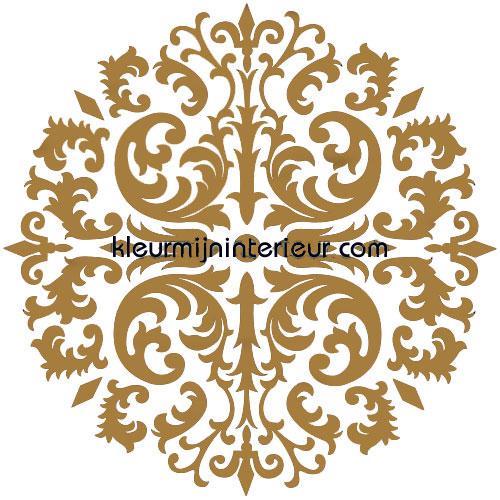 barok brons autocolantes decoração cst 50323107 sale wall stickers