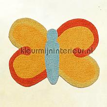 Vlinder karpet behang behang