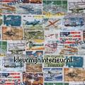 Postzegels curtains boys