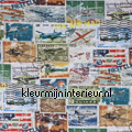 Postzegels stoffer Sommerfugle Fugle