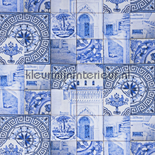 Delfts Blauw gordijnen Kleurmijninterieur romantisch