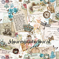 Old writings coupon 10.50 mtr tendaggio sale curtains