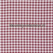 Vichy ruit aubergine 1,5 cm COUPON 8 mtr gordijnen behang