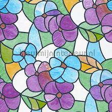 Gekleurde bloemen plakfolie DC-Fix dessins gekleurd