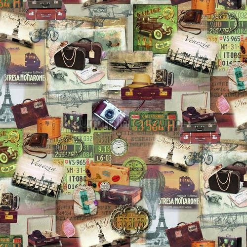 Wereldreis plakfolie 200-3226 DC-fix collectie