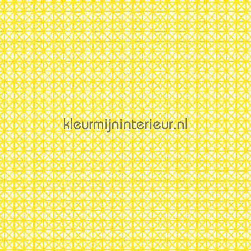 Borduur geel self adhesive foil 13464 pattern Gekkofix