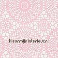 Kant roze motieven motieven dekkend
