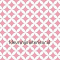 Retro roze motieven motieven dekkend
