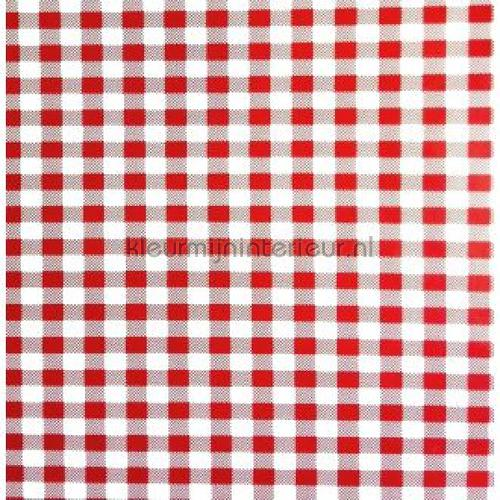 Check Red-White feuille autocollante SF0034 motifs Kitsch Kitchen