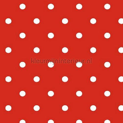 Red-White Dots pelicula autoadesiva SF0010 motivos Kitsch Kitchen
