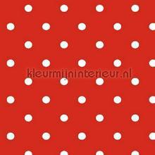 Red-White Dots feuille autocollante Kitsch Kitchen tout images