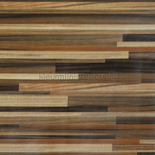 Hout strookjes gemengd plakfolie 92-3515 Patifix collectie