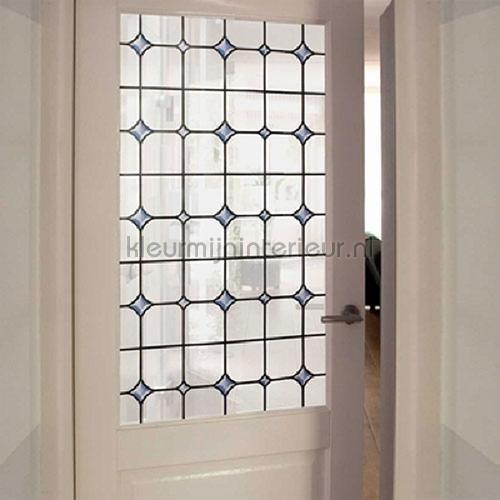 Glas in lood  - subtiele look lámina adhesiva 61-2290 colored designs Patifix