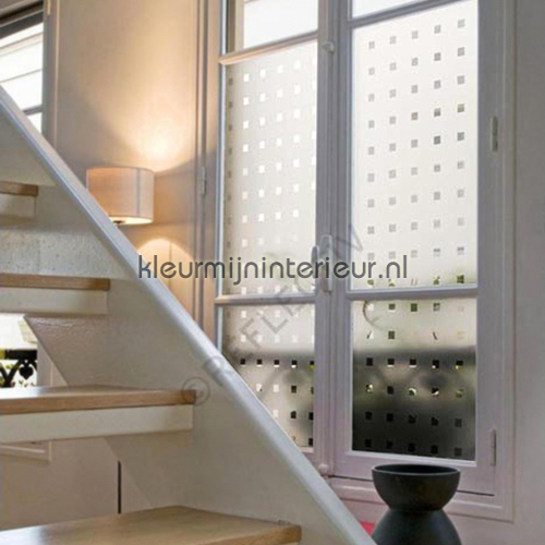 Decoratieve professionele raamfolie lámina adhesiva INT 470 75 cm breed Room set photo's Reflectiv