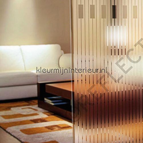 Decoratieve professionele raamfolie selvklaebende plast INT 549 152 cm breed designs Reflectiv